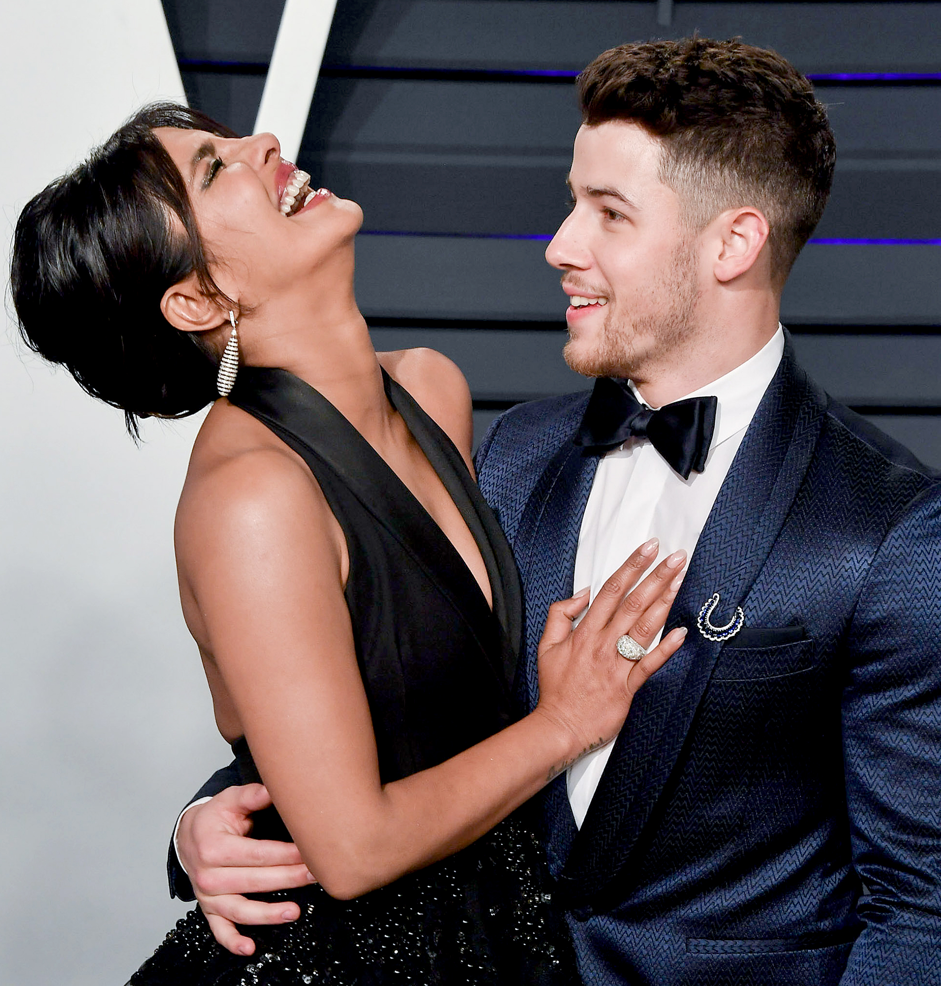 "Priyanka-Chopra-and-Nick-Jonas - The ""Jealous"" crooner first spoke to the Quantico alum via Twitter in September 2016. ""I'm hearing from a few mutual friends that we should meet,"" Jonas privately messaged his now-wife, to which she replied, ""My team can read this. Why don't you just text me."""