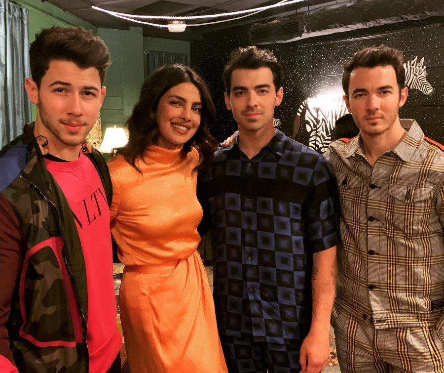 Priyanka Chopra attends her first Jonas Brothers concert