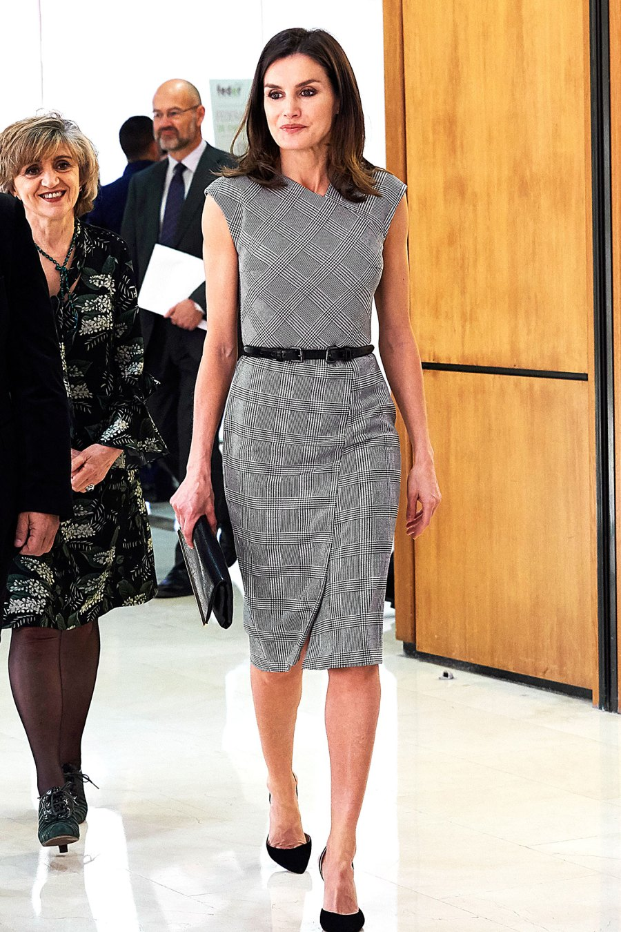 Queen Letizia Is Back With Another Boss Lady Look
