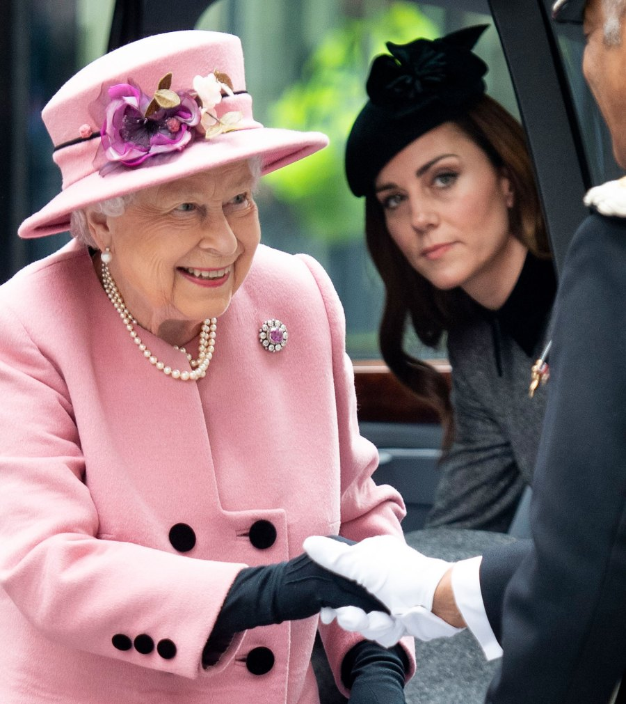 Duchess Kate and Queen Elizabeth II's Make First Joint Outing in Seven Years