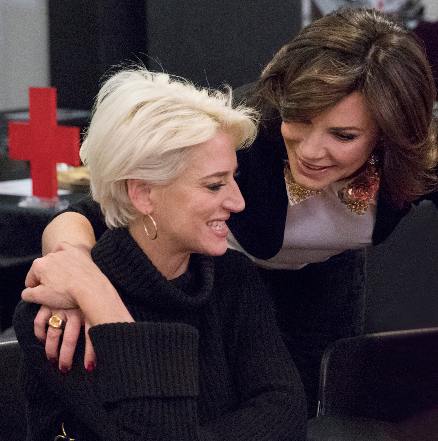 RHONY's Dorinda Medley Defends Her Relationship With Luann de Lesseps After Family Lawsuit Drama: Watch - Dorinda Medley and Luann de Lesseps on 'The Real Housewives of New York City.