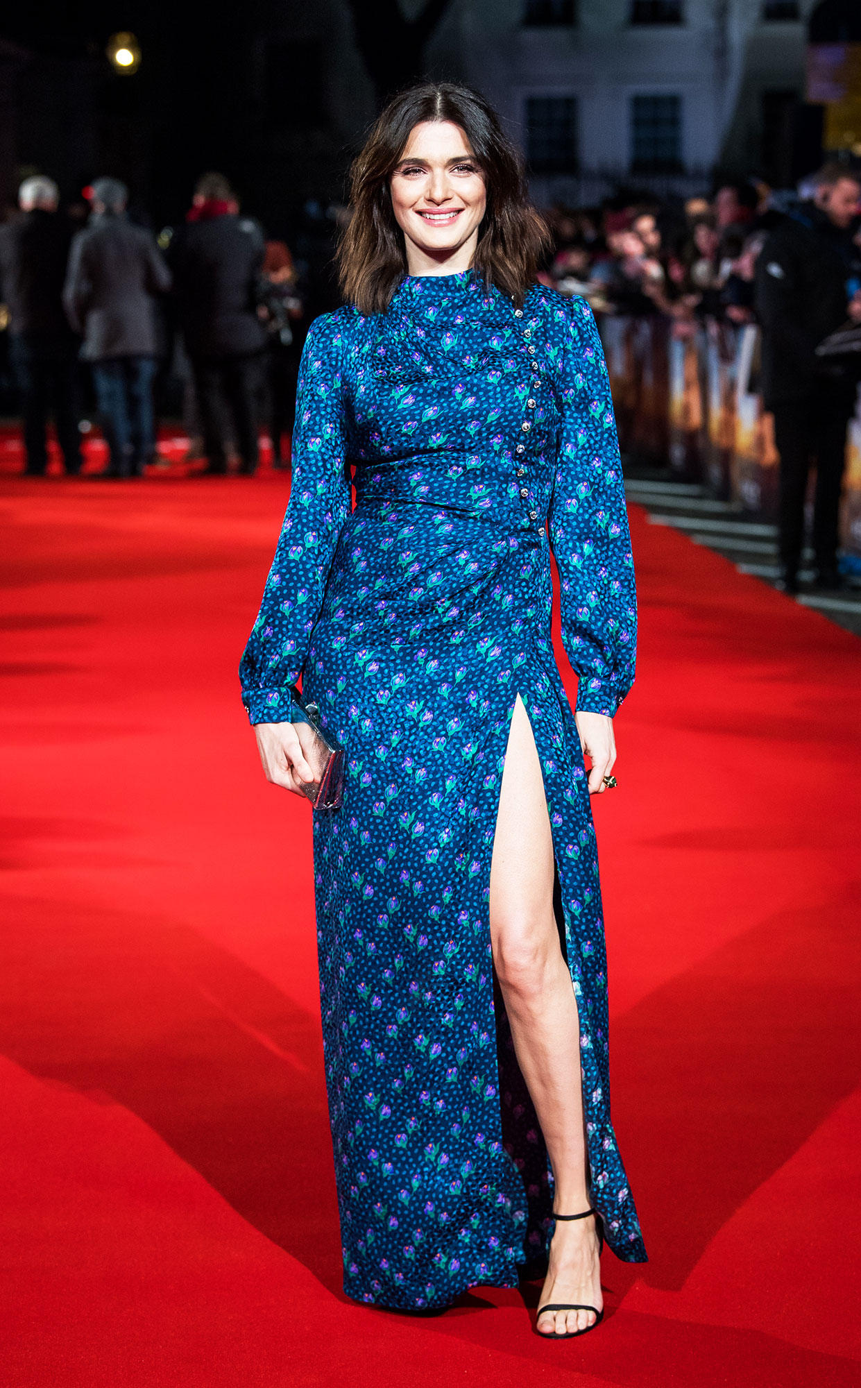 Happy Birthday, Rachel Weisz! See Her Hottest Red Carpet Looks - Rachel Weisz attends 'The Mercy' World Premiere at The Curzon Mayfair on February 6, 2018 in London, England.