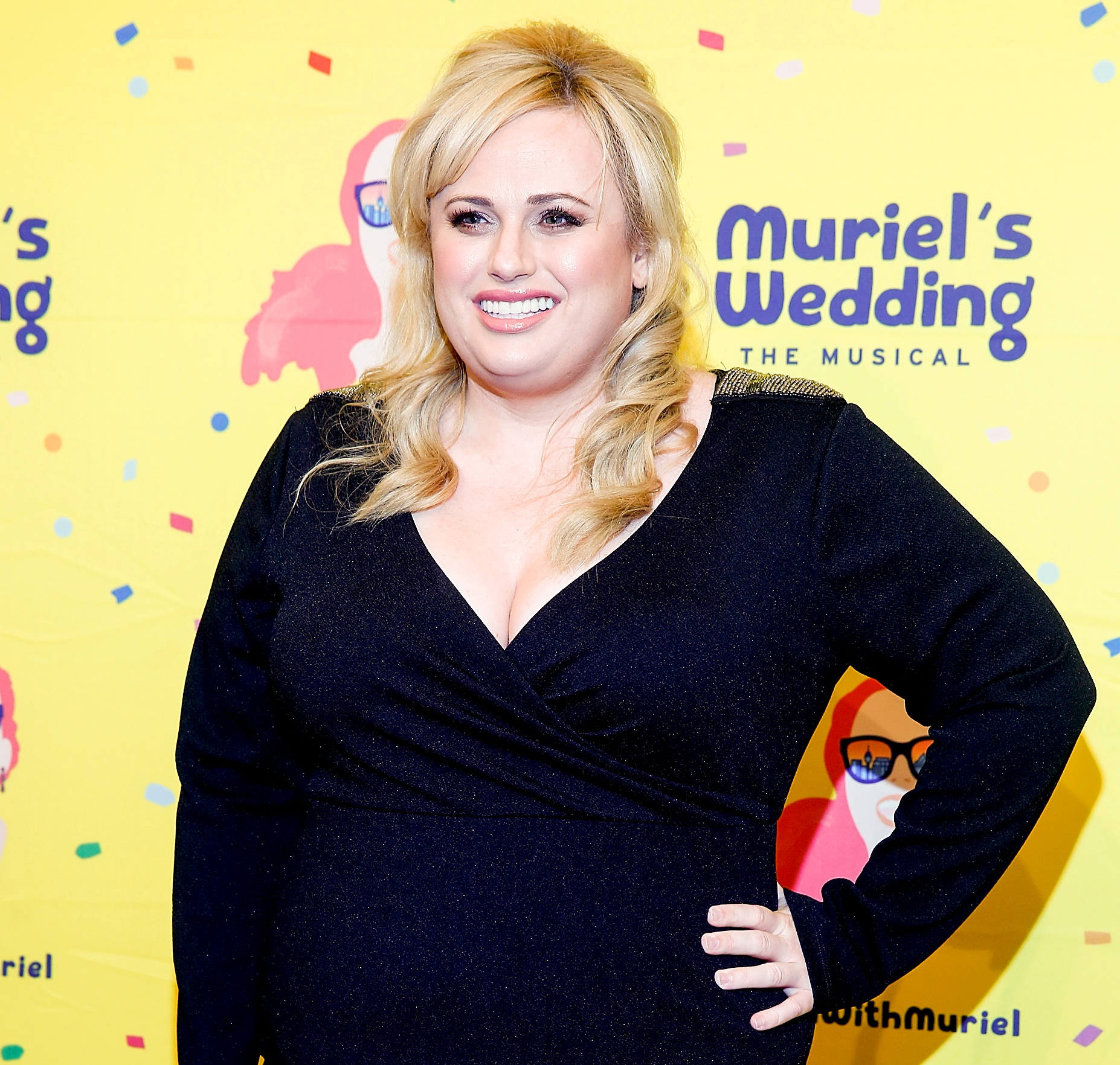 Rebel-Wilson-Looks-Fitter-Than-Ever - Rebel Wilson attends Muriel's Wedding The Musical at Her Majesty's Theatre on March 23, 2019 in Melbourne, Australia.