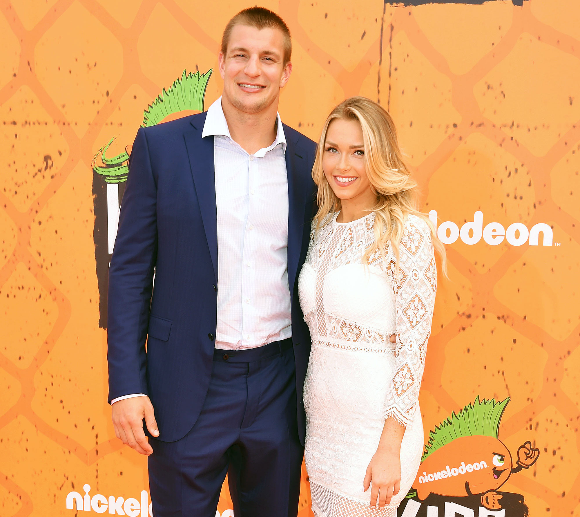 Rob Gronkowski Retiring Camille Kostek Biggest Fan Love