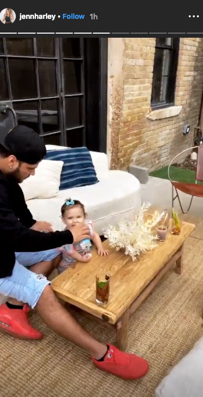 Ronnie Ortiz-Magro and Jen Harley Reunite With Daughter Ariana at Party in Texas