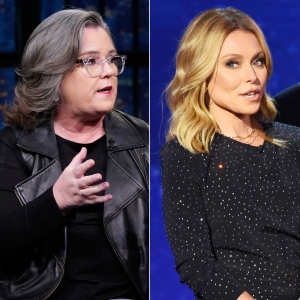 Rosie O'Donnell Slams 'Mean' Kelly Ripa, Claims She 'Gay Bashed'