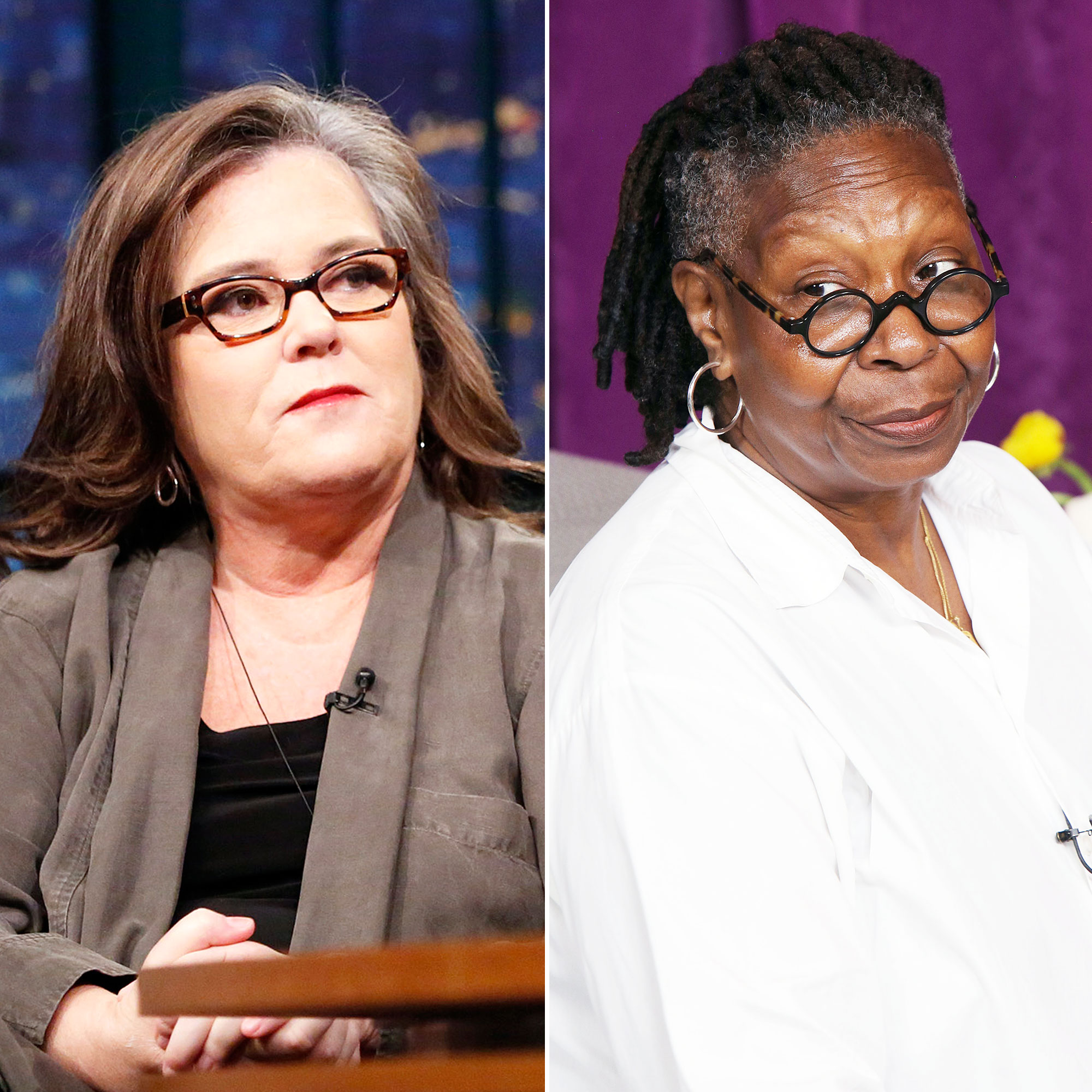 Rosie O'Donnell Whoppi Goldberg Worst Experience Live TV
