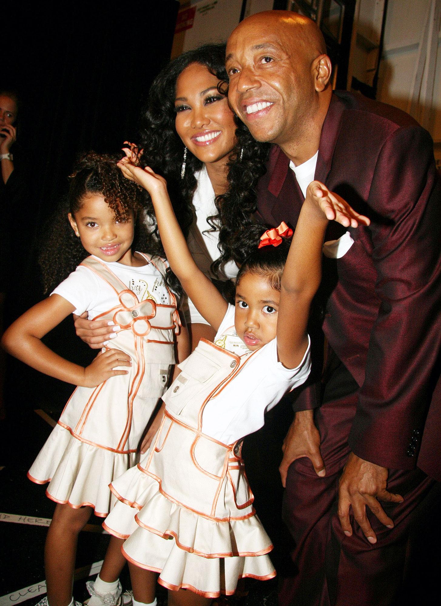 Russell Simmons Kimora Lee Daughter Aoki Lee Simmons Harvard