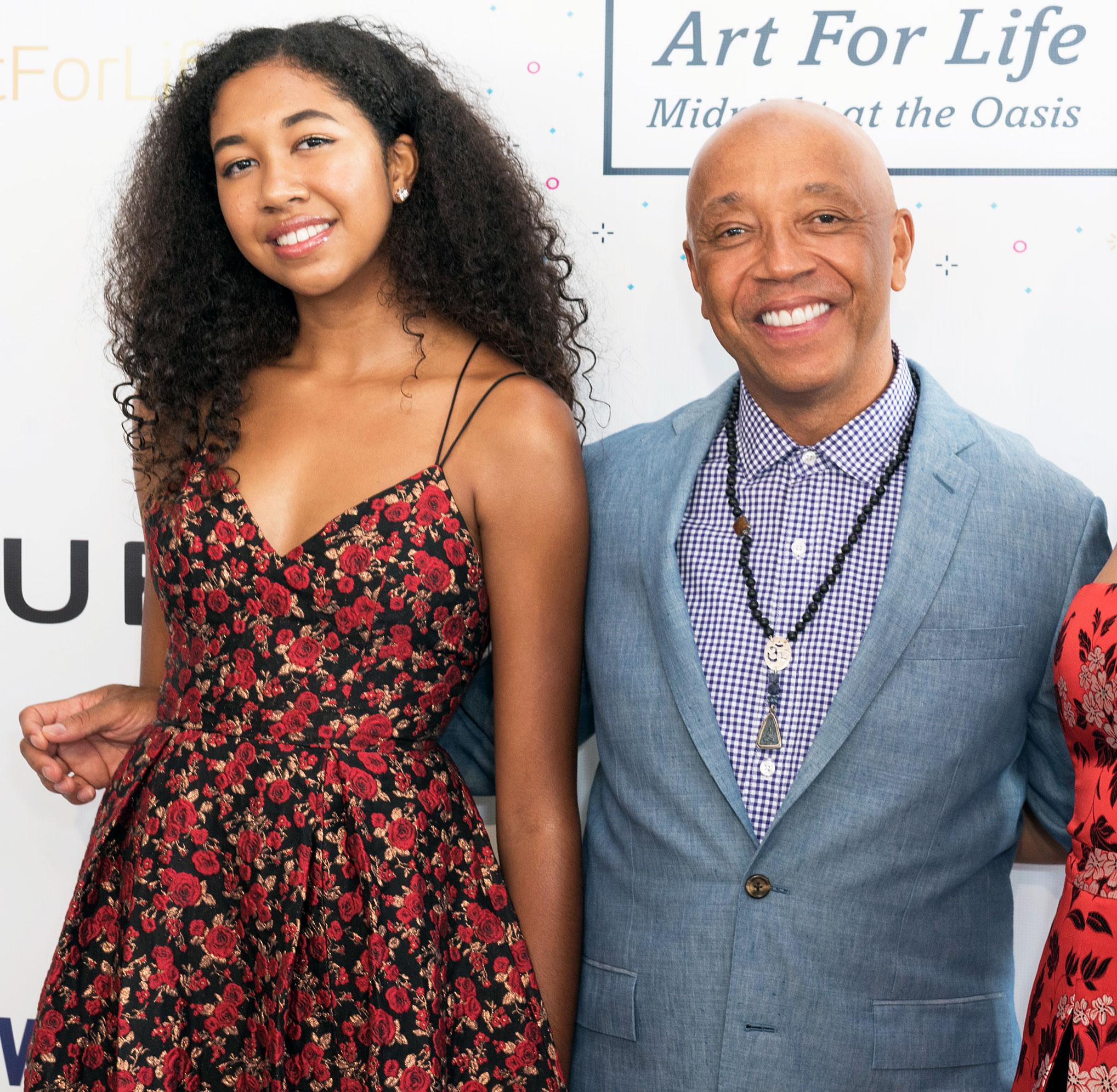 Kimora Lee Simmons' Daughter Aoki, 16, Gets Into Harvard