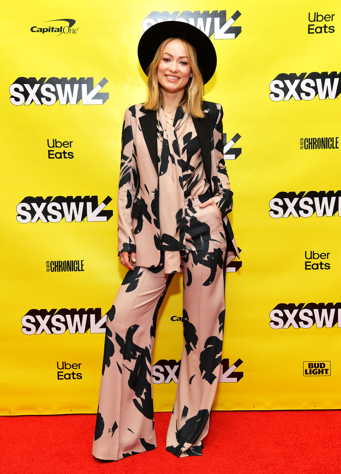 Olivia Wilde SXSW Is Giving Us Chic Outfit Inspo for Spring - Olivia Wilde speaks onstage at Film Keynote: Olivia Wilde during the 2019 SXSW Conference and Festivals at Austin Convention Center on March 11, 2019 in Austin, Texas.