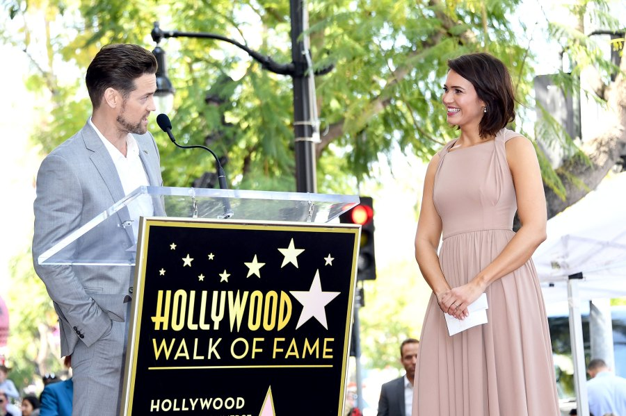 Mandy Moore's 'A Walk to Remember' Costar Shane West Surprises Her at Hollywood Walk of Fame Ceremony