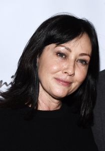 Shannen Doherty Gets Emotional Over Luke Perry's Stroke: 'He's Going to Be Great'