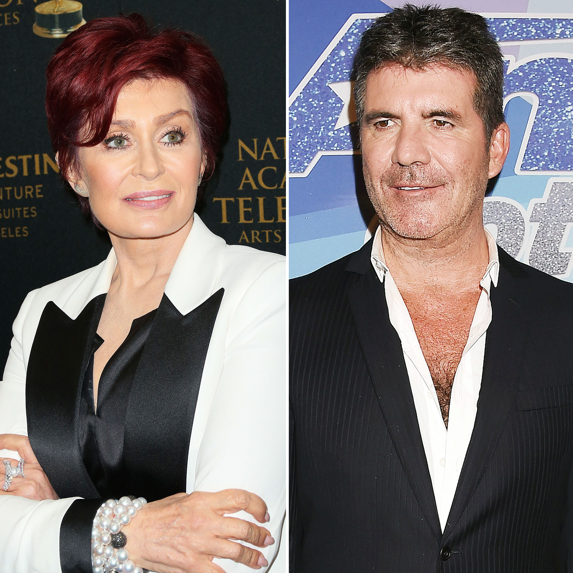 Sharon Osbourne Fired The X Factor UK Too Old Simon Cowell