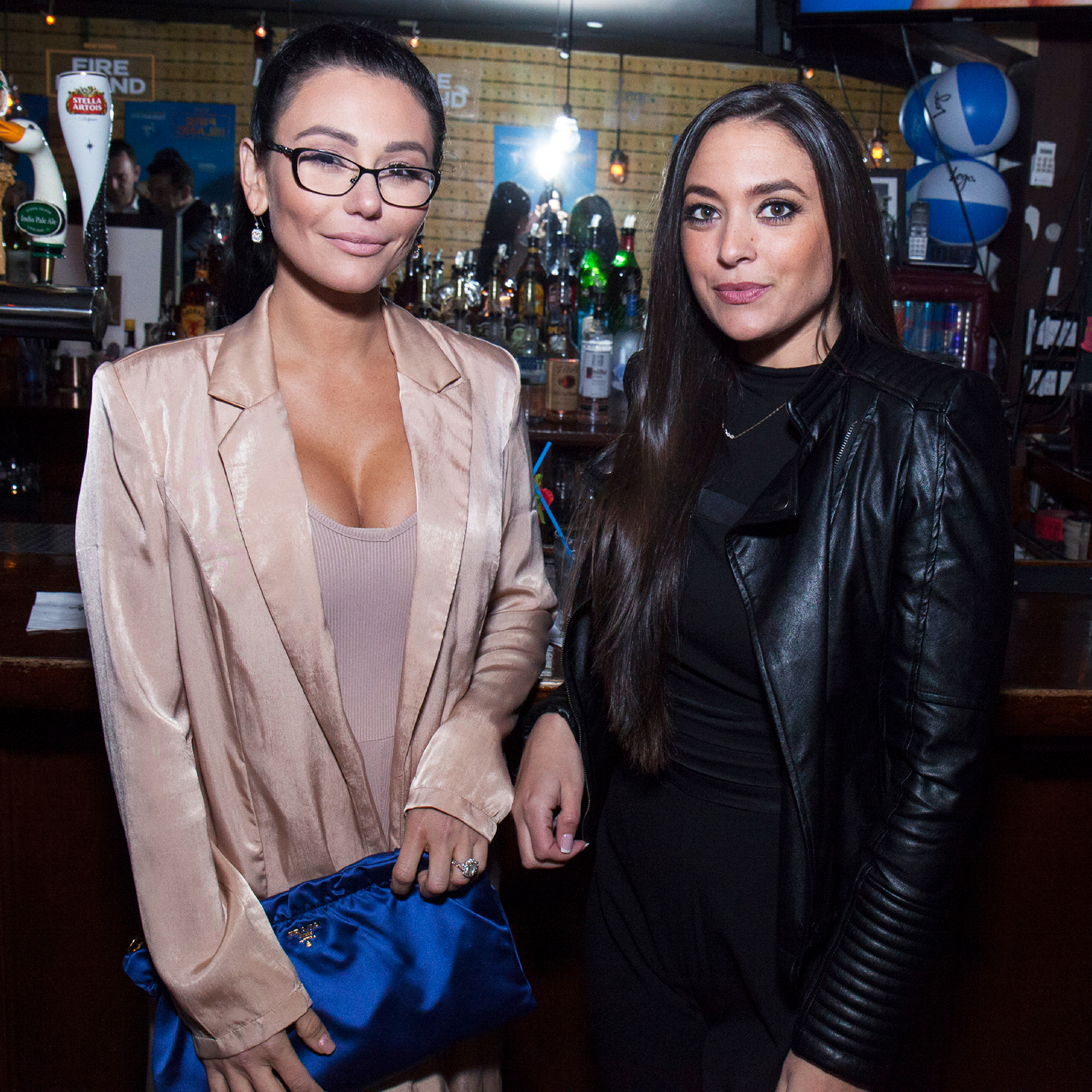 """Snooki, JWoww and the 'Jersey Shore' Cast Shower Sammi 'Sweetheart' Giancola With Love After Engagement - Farley, who is going through a nasty divorce from estranged husband Roger Mathews , wrote, """"Omg omg omg !!!! I'm so freaking happy for you."""""""