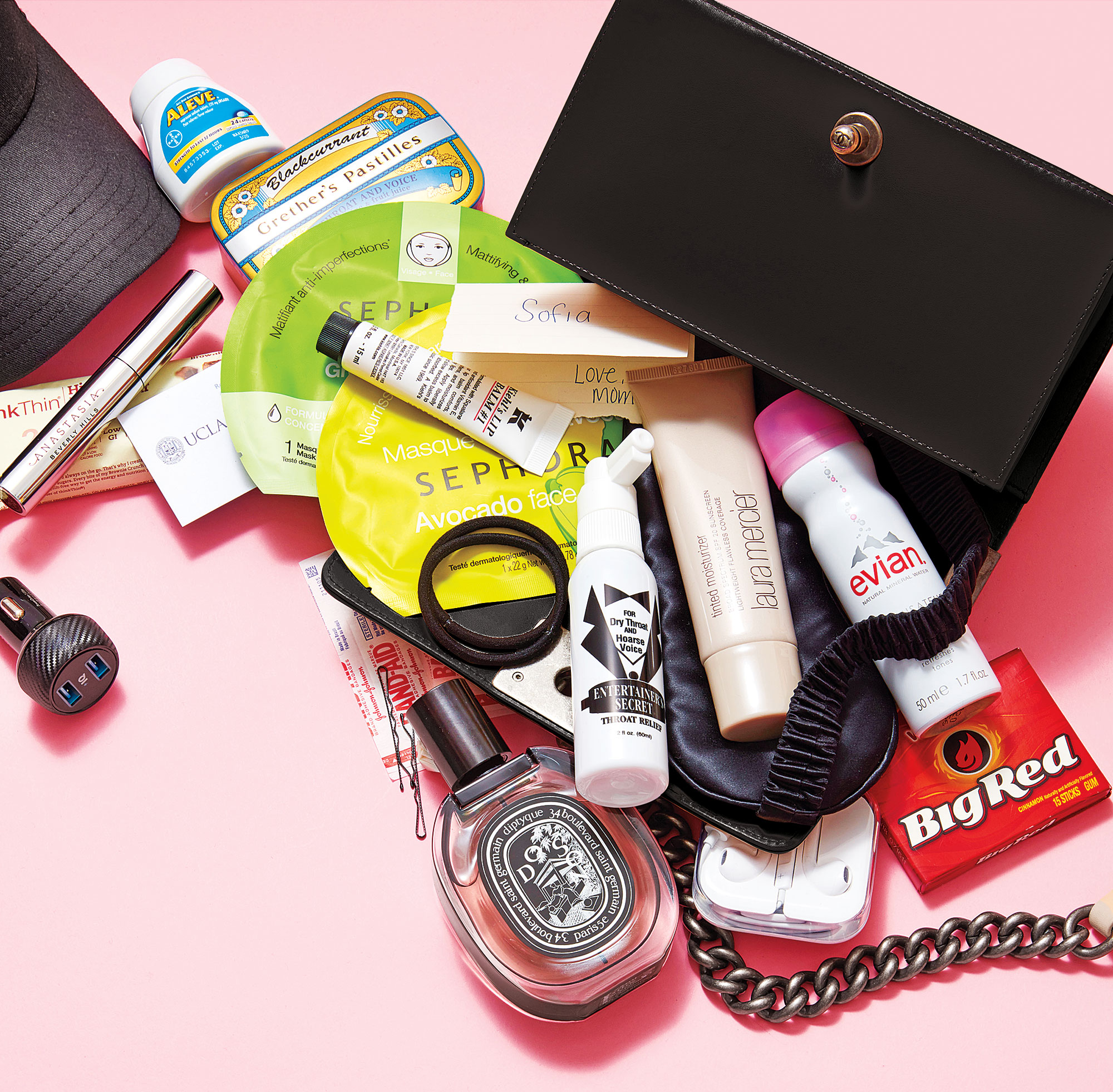 Sofia Carson What's In My Bag