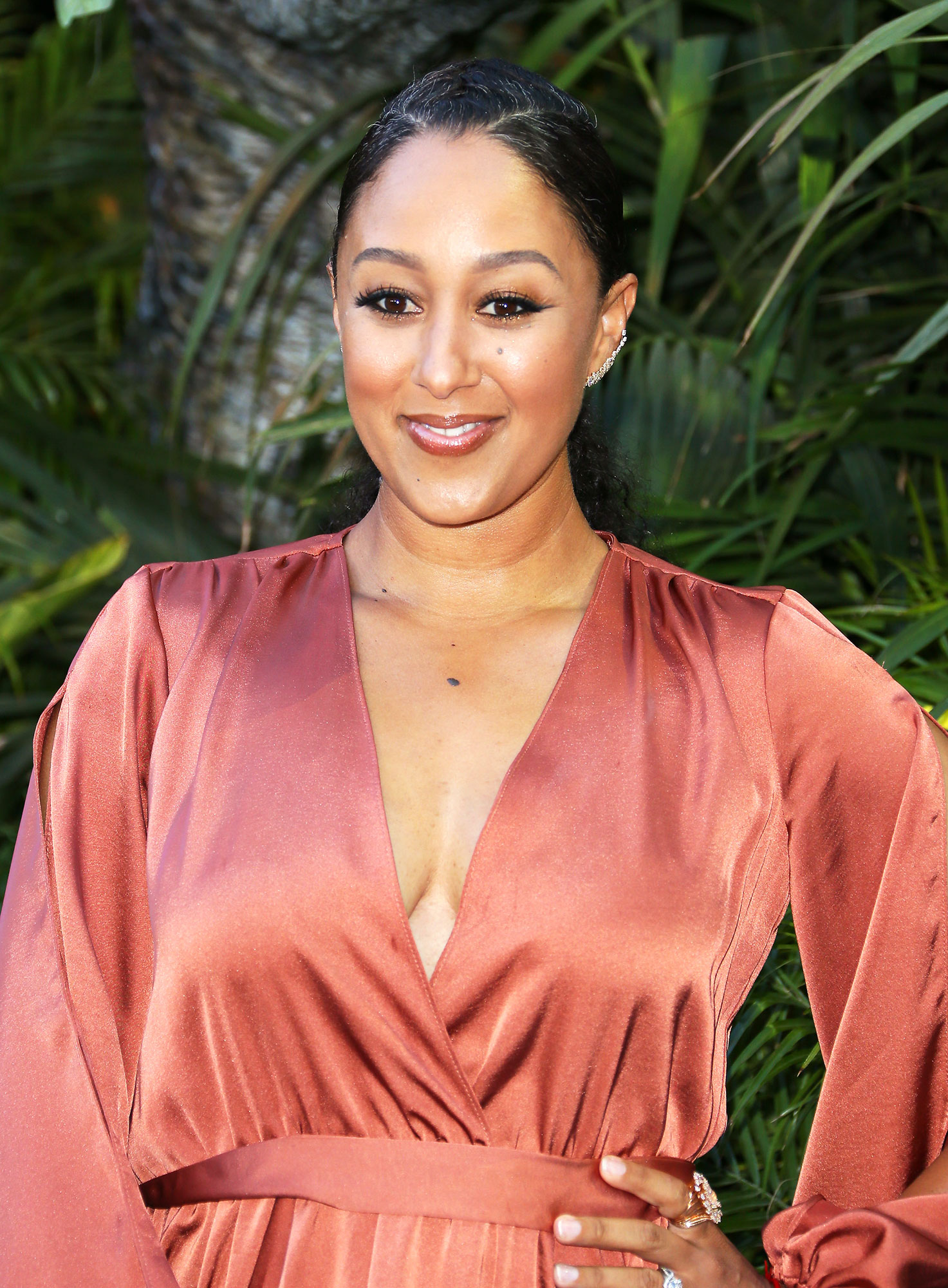 "Tamara Mowry - The Real cohost could have used some bee repellent after reminiscing on the time she felt charmed by Jay-Z at a movie premiere years before their marriages. ""It's so weird,"" she said on the talk show in March 2019."