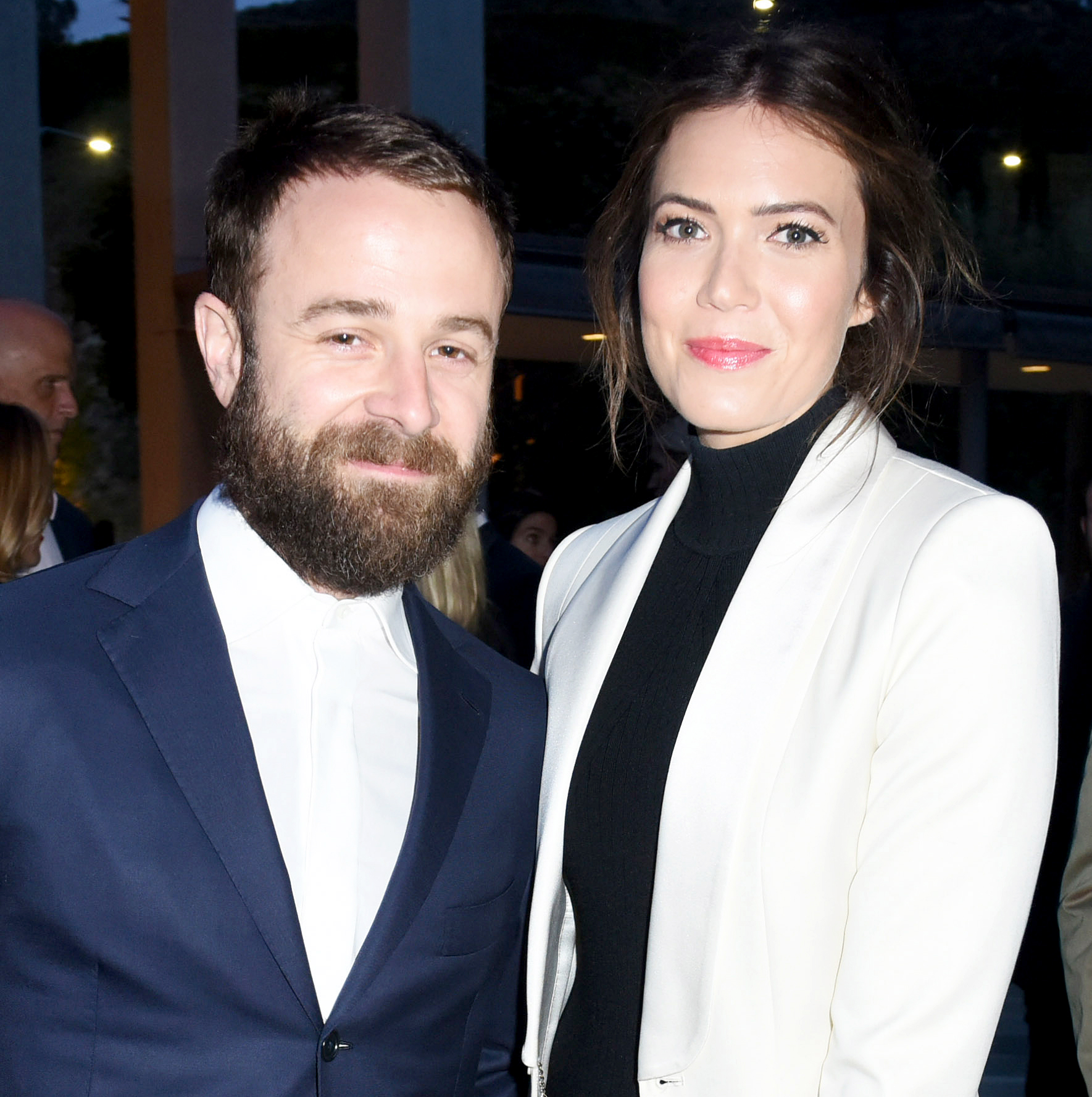 "Taylor-Goldsmith-and-Mandy-Moore - The This Is Us actress and her musician husband connected after she attended a Dawes concert in September 2015 and noticed Goldsmith, the frontman. The ""Candy"" singer posted a picture from the show on Instagram, which prompted Goldsmith to send her a message."