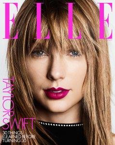 Taylor Swift ELLE Cover Kim Kardashian Feud