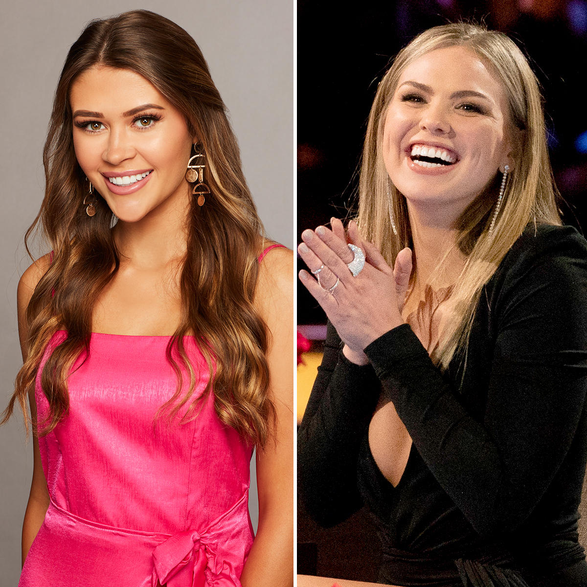 The-Bachelor's-Caelynn-Predicts-Who-Will-Propose-to-Bachelorette-Hannah - The Bachelor's Caelynn and Hannah