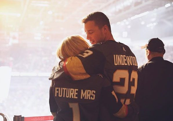 The Bachelor's Cassie Randolph Wears 'Future Mrs.' Jersey During Las Vegas Date With Colton Underwood