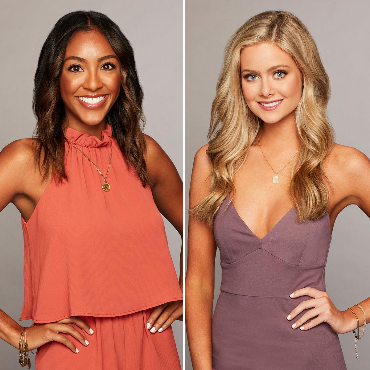 The-Bachelor's-Tayshia-Adams-and-Hannah-Godwin-Share-Updates-Post-Colton