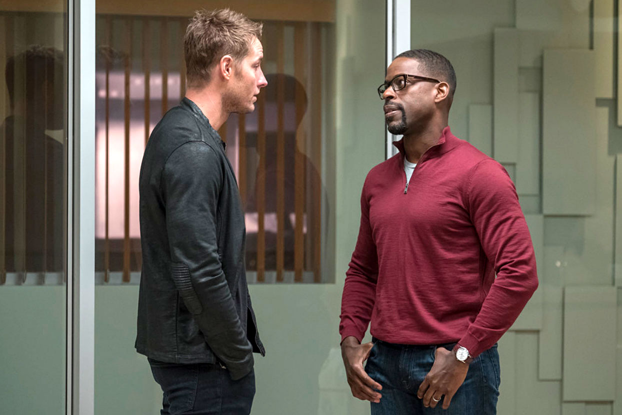 This Is Us 3x15 Recap - Justin Hartley and Sterling K. Brown in 'The Waiting Room' episode of 'This Is Us'
