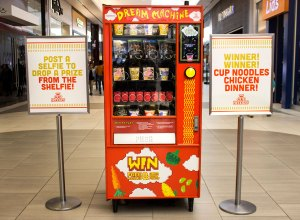 This New Cup Noodles Machine Uses Instagram as Currency: Here's How it Works