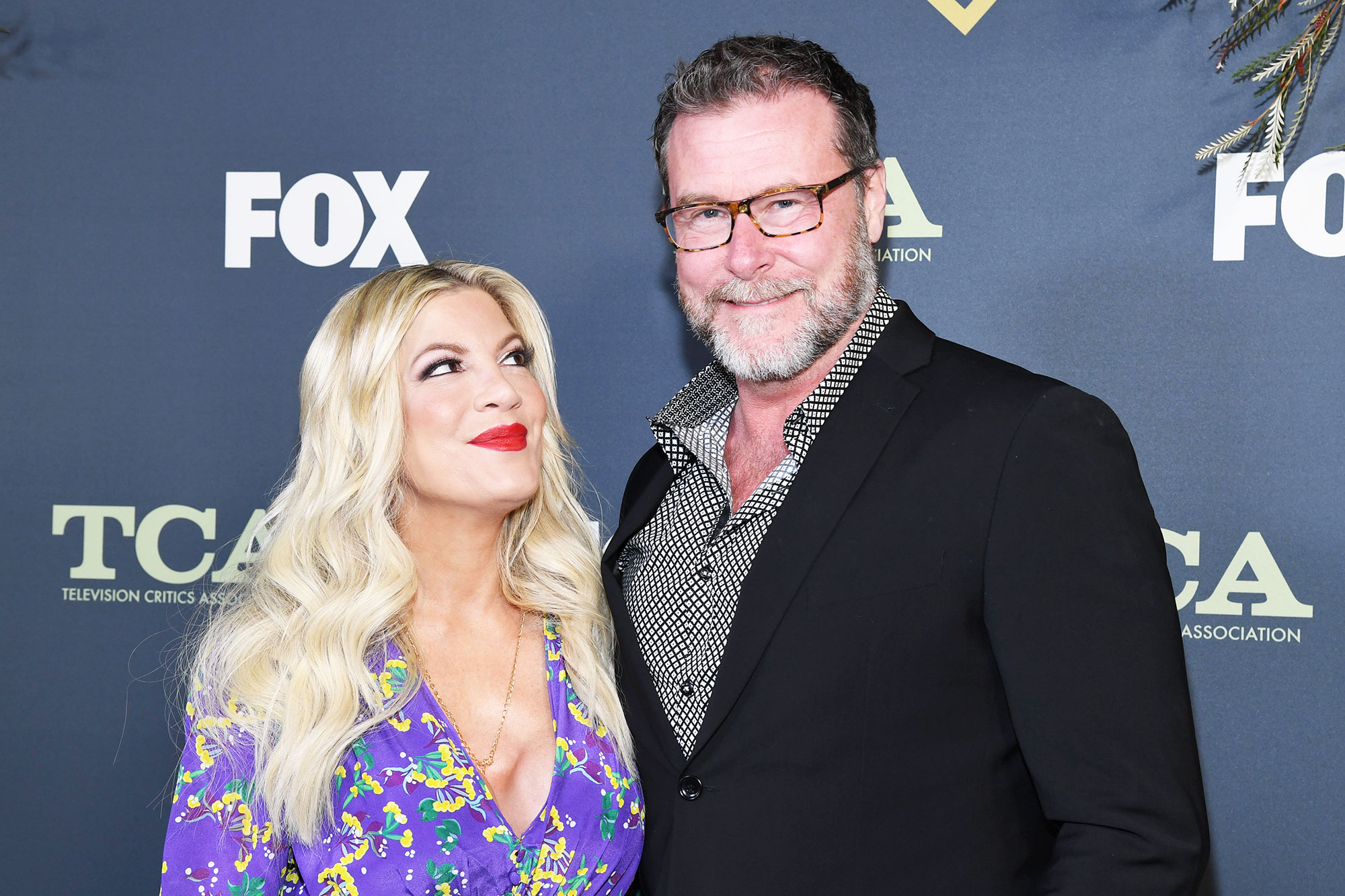 How Tori Spelling, Dean McDermott Keep Their Romance Alive: I Have to Touch Her Butt Every Day. - Tori Spelling and Dean McDermott attend Fox Winter TCA at The Fig House on February 06, 2019 in Los Angeles, California.