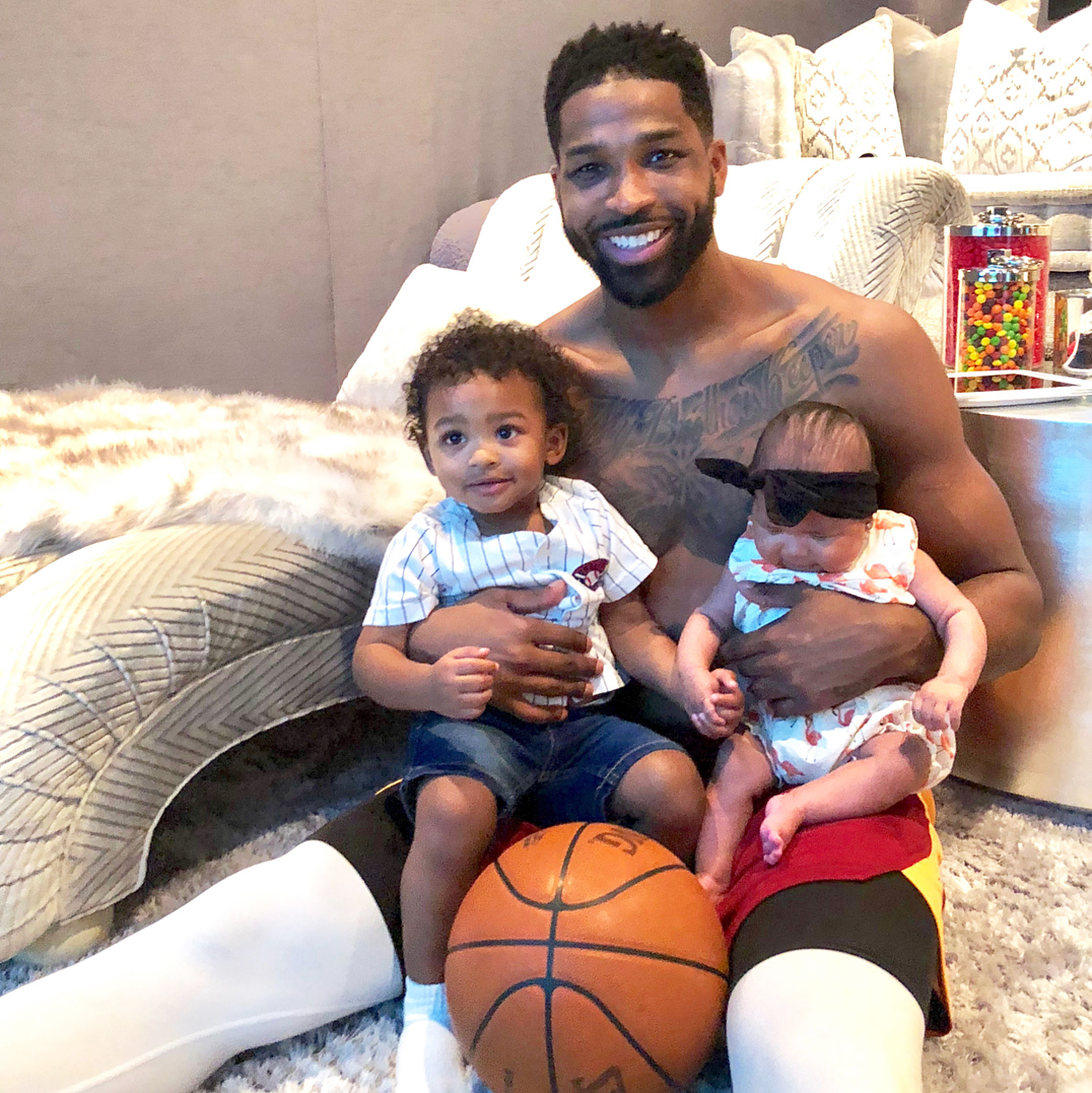 Tristan Thompson Children True Prince Special Sneakers