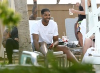 Tristan Thompson Relaxes at Pool Party With Multiple Women After Khloe Kardashian Split