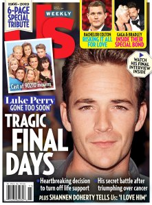 Us Weekly Cover Luke Perry Dead