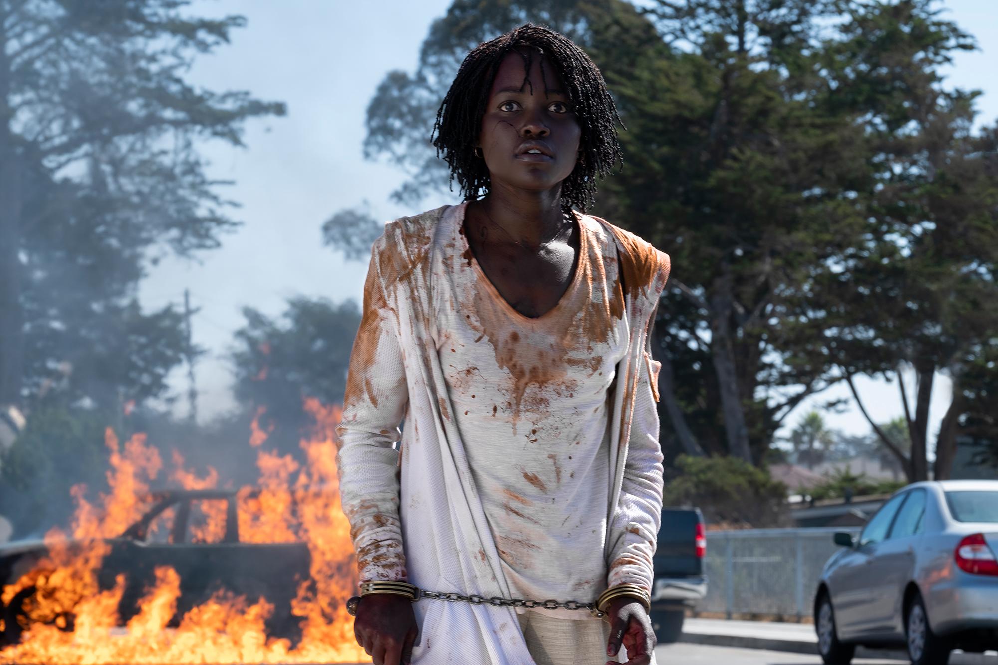 Us Movie Review - Lupita Nyong'o in Us.