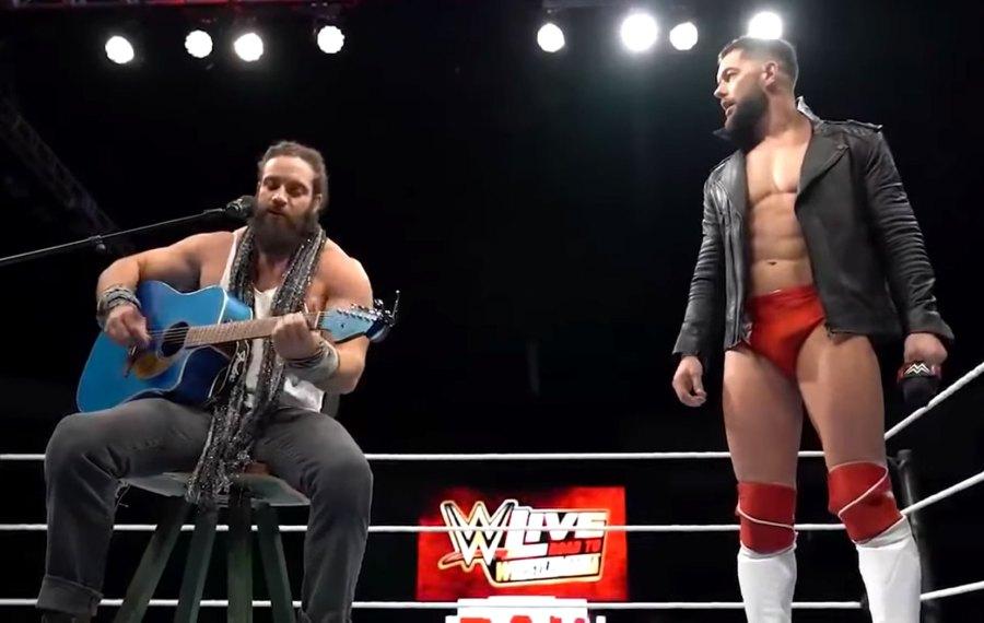 WWE Stars Finn Balor and Elias Sing 'Shallow' in the Ring