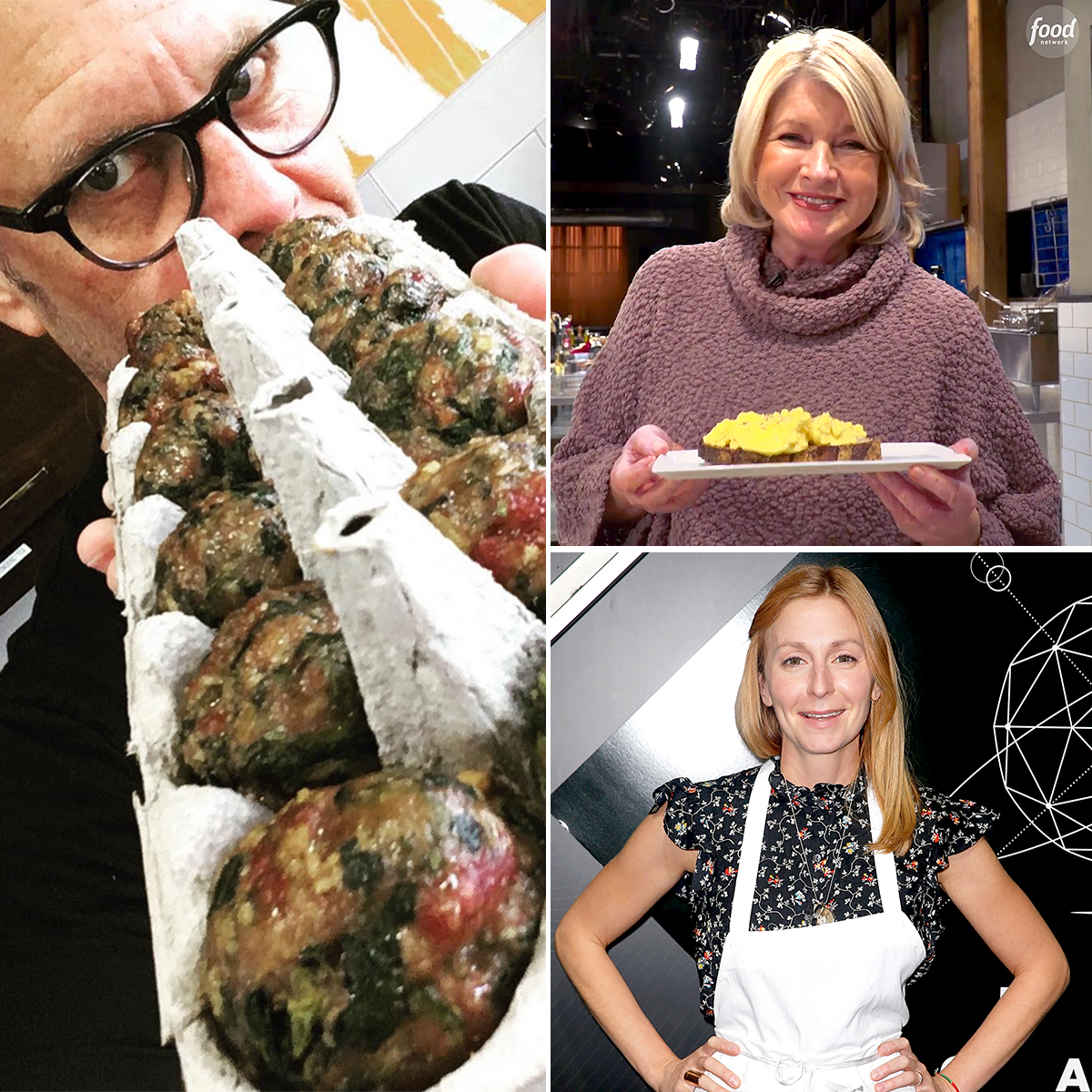 """Weird-Cooking-Hacks-From-Celebrity-Chefs - Everyone loves a weird cooking hack, especially if it comes from a celebrity chef! Sure, there's not doubt the culinary pros know how to do things (such as scramble an egg or bake a cake) the """"normal"""" way, but where is the fun in that?"""