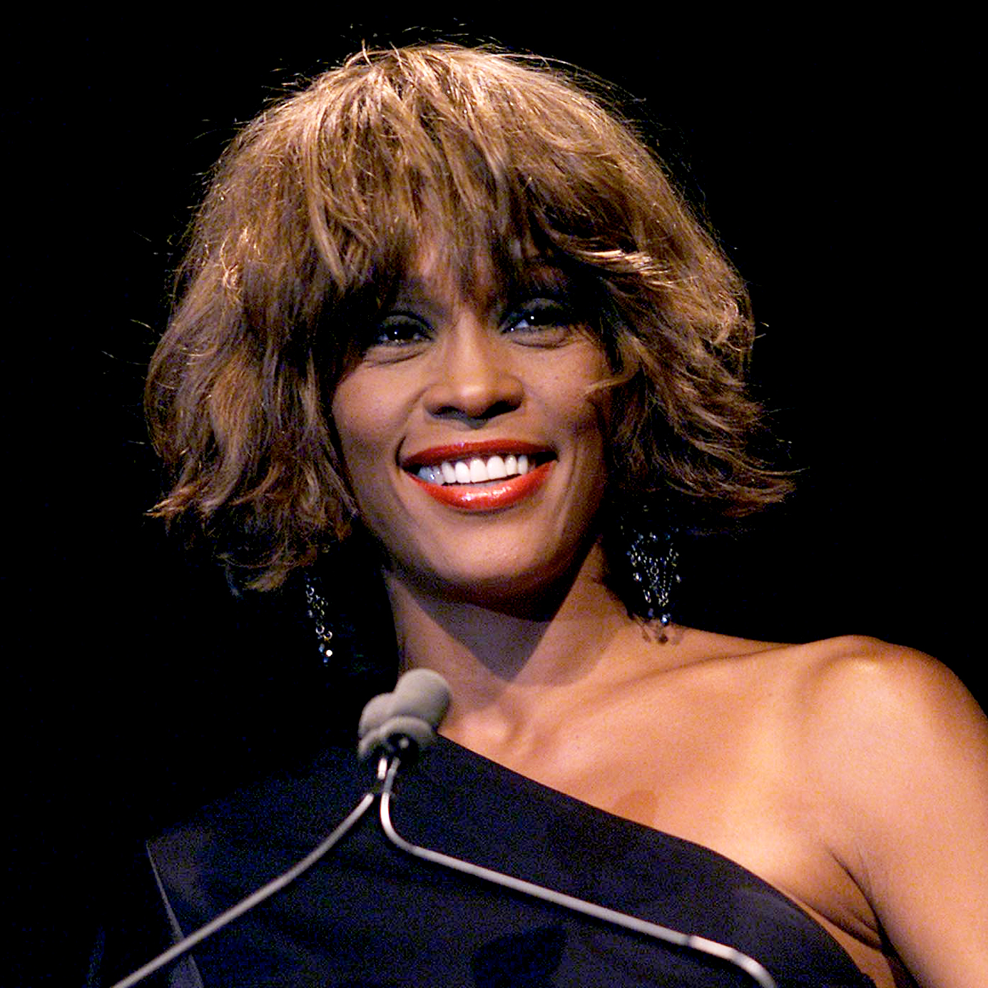 Whitney-Houston - During a tumultuous 15-year marriage to bad boy Bobby Brown, the late singer reportedly suffered from spousal abuse and even called the police on her husband after a verbal altercation turned physical.