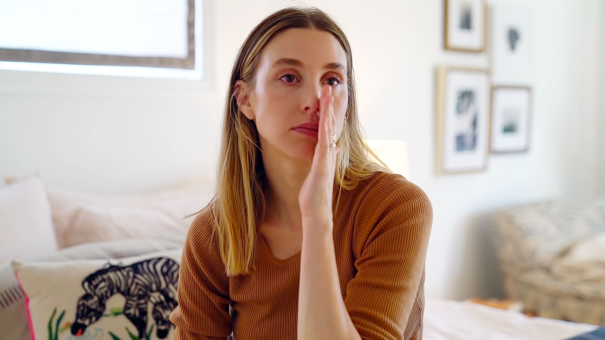 Whitney Port Cries Mom Bullying - Whitney Port.