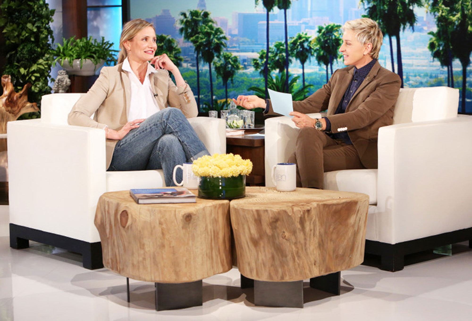 """Ellen A Timeline of Cameron Diaz and Benji Madden's Private Relationship - Diaz loves her husband, but that doesn't mean marriage is without its difficulties . """"I learned all these things about myself that I wish I never learned about myself and I wouldn't have known them if I didn't get married,"""" she told Ellen DeGeneres in May 2016."""