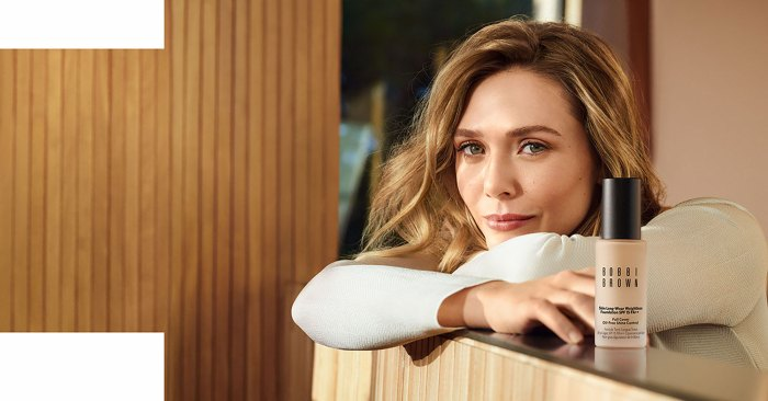 Elizabeth Olsen Teams Up with Bobbi Brown for Women's Day Campaign