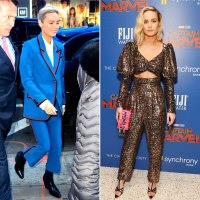Brie Larson Rocked a Daytime and Evening Pantsuit — Here's How to Get the Look