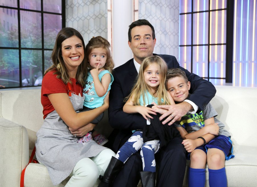Carson Daly Reveals He Is 'Scared of Loving' His Three Kids Too Much