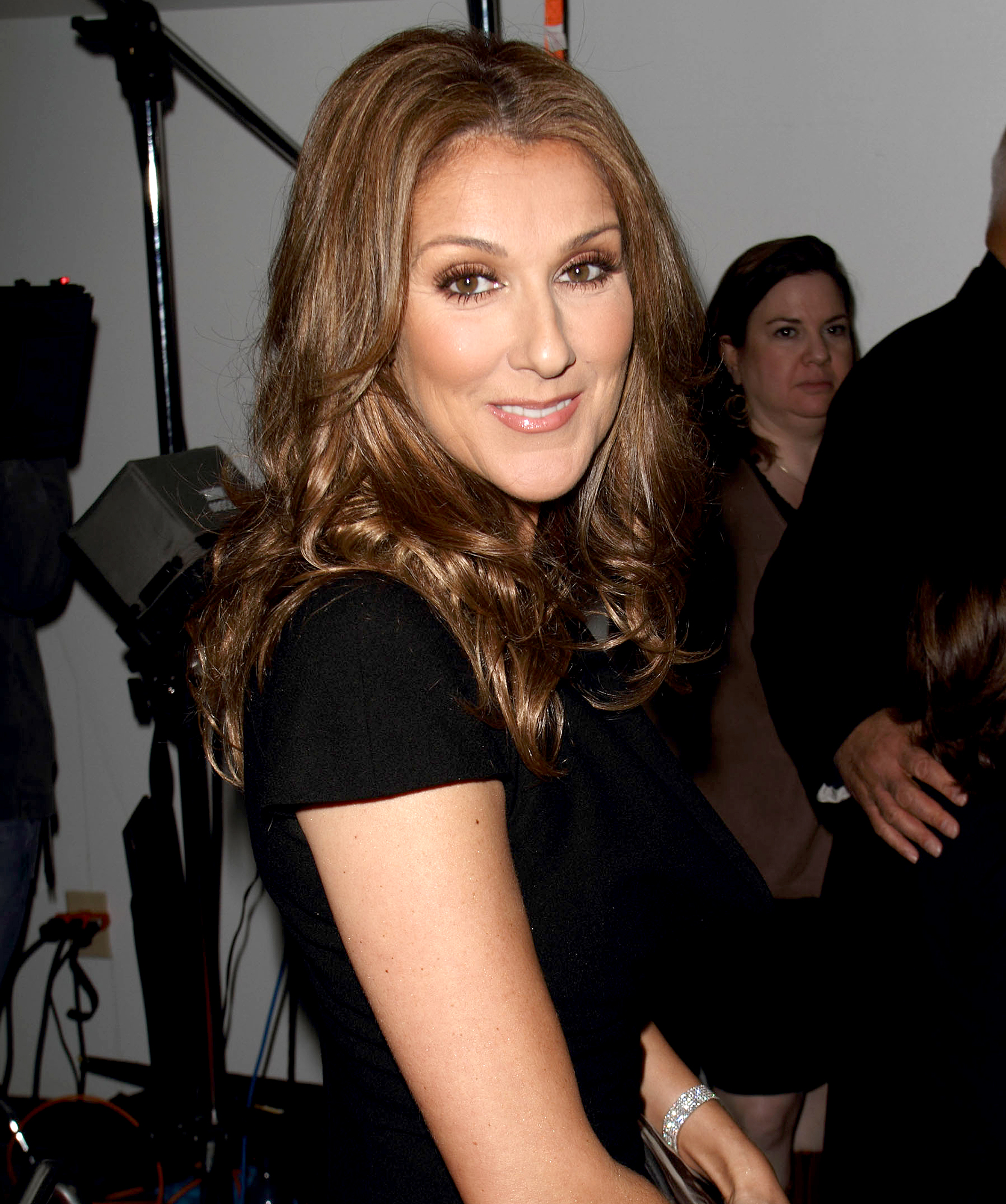 "celine-dion-pregnant - In May 2010, the 42-year-old singer confirmed that, following five failed IVF attempts — and a miscarriage — she had successfully conceived twins with her husband, Rene Angelil , 68. ""I never gave up,"" Dion said of the ""exhausting"" struggle."