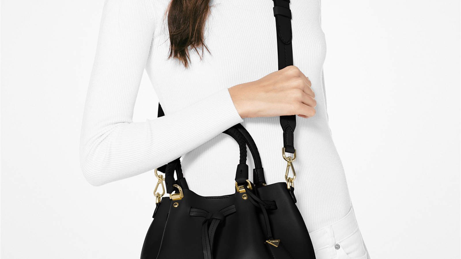 67e375104a97a9 This Michael Kors Bucket Bag Is $150 Off at Macy's Right Now