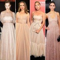 karlie kloss Natalie Portman Lady Gaga, Nina Dobrev Dior red carpet gallery for Stylish