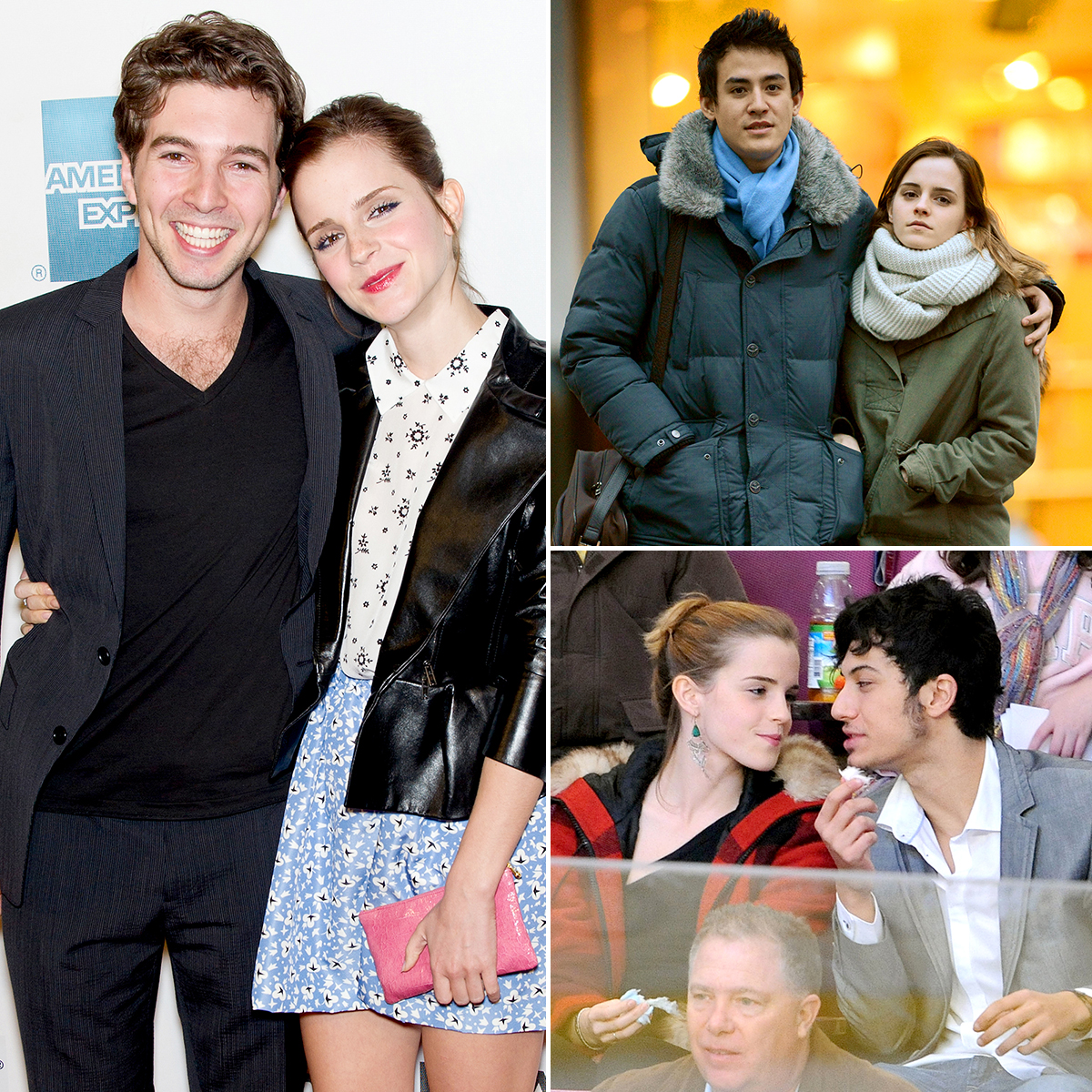 "emma-watson-dating-history - As one of the biggest young actress in Hollywood, Emma Watson is often found at the center of relationship rumors. ""[Being famous is] difficult on my dating life, because anyone I get photographed with is automatically my boyfriend,"" the British actress told Glamour in September 2012."