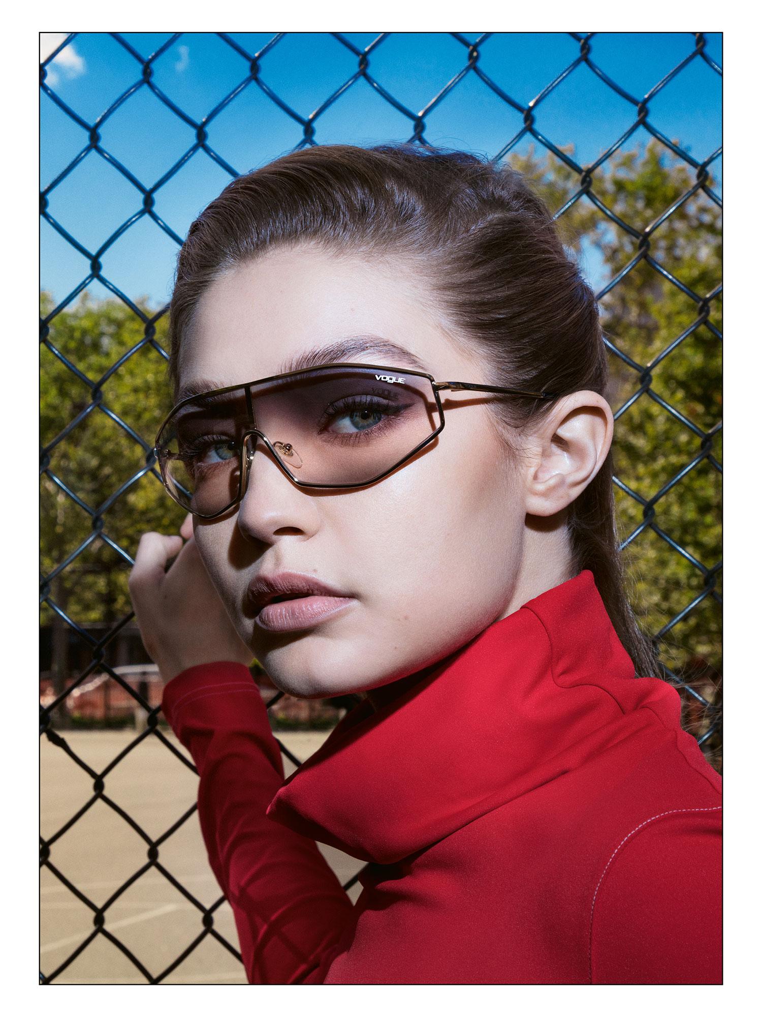 f43cce0d89c3 Gigi Hadid x Vogue Eyewear Spring 2019 Sunglass Campaign  Pics