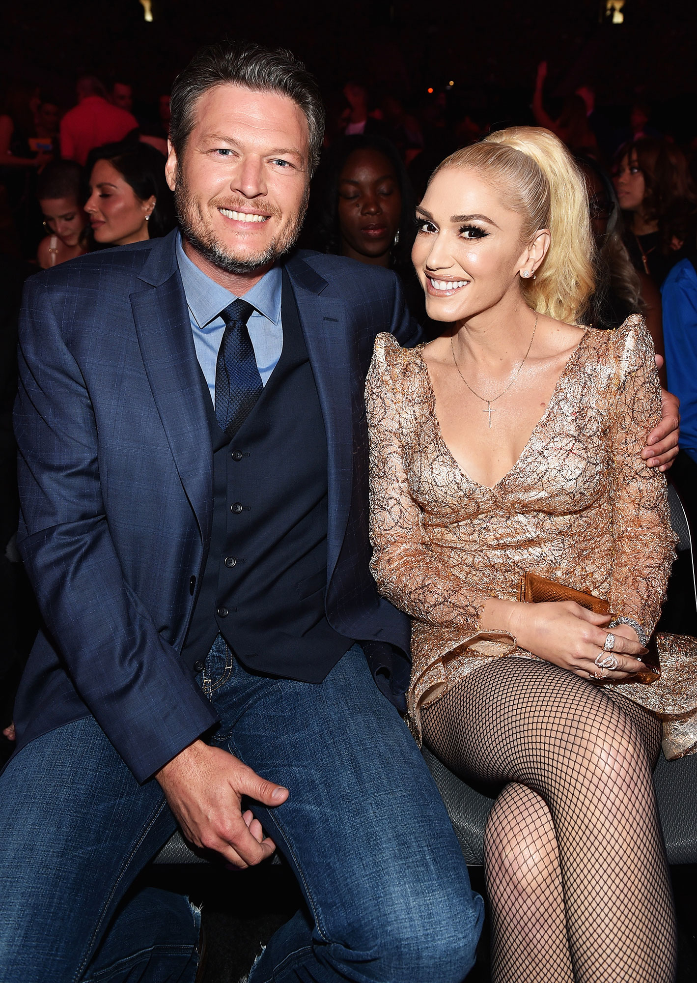 "Gwen-Stefani-blake-shelton-sweetest - Stefani serenaded Shelton with a sweet birthday song on June 16. ""Happy Birthday, dear Blakey,"" she could be heard crooning in a video she posted on Instagram."