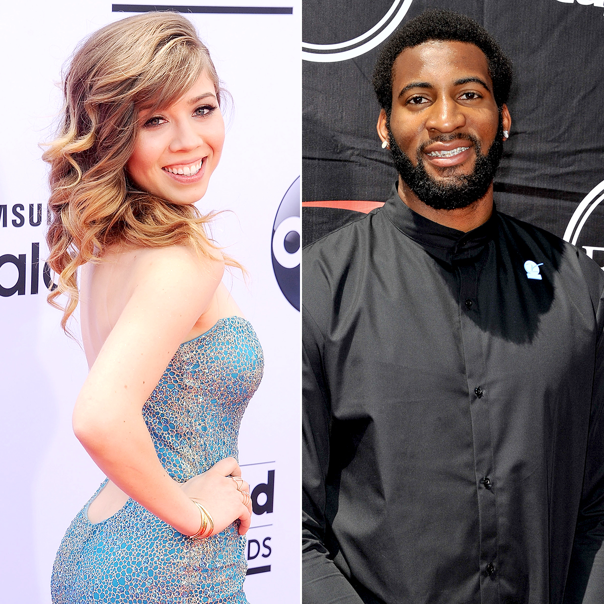 "jennette-mccurdy-Andre-Drummond - The Sam & Cat actress started dating the Detroit Pistons player in the fall of 2013 after he gave her several shoutouts on Twitter throughout the year. ""@DRE_DRUMMOND_ I wanna watch you play,"" she finally tweeted in August, to which he replied, ""@jennettemccurdy ill let you know when I play in LA!"""