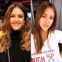 Jessica Alba's 'Impulsive' Bangs Make Her the Newest Celeb Hair Makeover