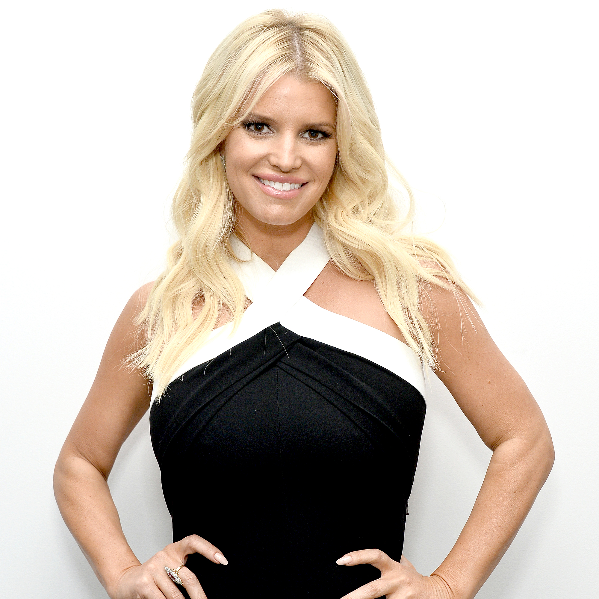 """jessica-simpson - """"I have definitely experienced abuse in a way that I would tell people to take their heart and run,"""" the singer told Elle in 2008."""