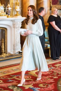 Duchess Kate Adds a Pale Blue Dress to Her All-Time Best Looks